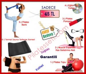 6'lı Pilates Seti