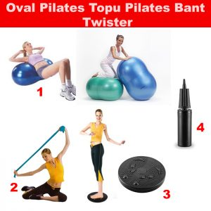 oval-elips-pilates-topu-twister-pilates-bandı