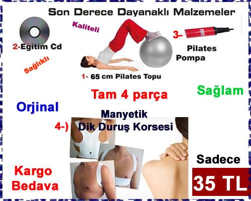 pilates-seti-ve-Manyetik-Dik-Duruş-Korsesi