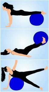 pilates ile bacak hareketi
