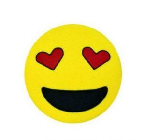 Gözleri Aşk Emoji Yastık E4-kapida-odeme